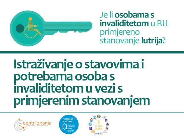 Uključite se u istraživanje o stavovima i potrebama osoba s invaliditetom u vezi s primjerenim stanovanjem